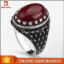 hot sale cheap fashion jewelry unique design 925 sterling silver men's rings wholesale factory price