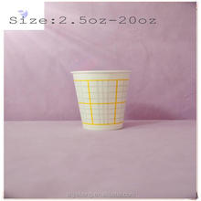 8oz cold paper cup with PET dome lid ,8oz cold cups,cold drink paper cup