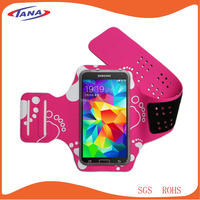 Custom logo waterproof dustproof cell phone sport armband for iPhone 6