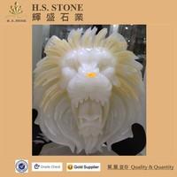stone sculpture art sale stone lion carving sculpture onyx lion head statue