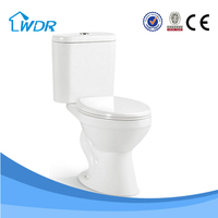 Made in china new products sanitary ware bathroom toilet W8058
