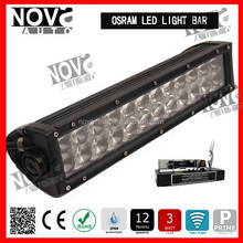 4D Latest Optics Design Osram Cheap Led Light Bar 300% Brighter Than Normal Led Light Bar