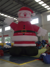 Large Santan Claus inflatable model for Christmas