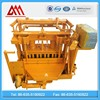 Automatic concrete hollow brick making machine QT40-3A mobile block machine egg laying brick making machine
