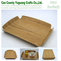 unfinished ashtree serving tray,wood restaurant serving tray,fruit trays