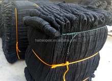 warp knitted knotless netting for aquaculture fish farming cages