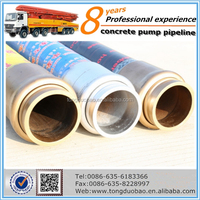 industrial rubber concrete pump hose with high performance