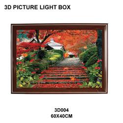 Hot Scenery Lenticular Plastic Pictures 3d