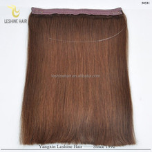 New Beauty Hot Sale Best Supplier Top Quality No Shedding No Tangle 100% Remy Human Hair flip in hair extension