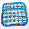best selling blue color food tray for bar usage