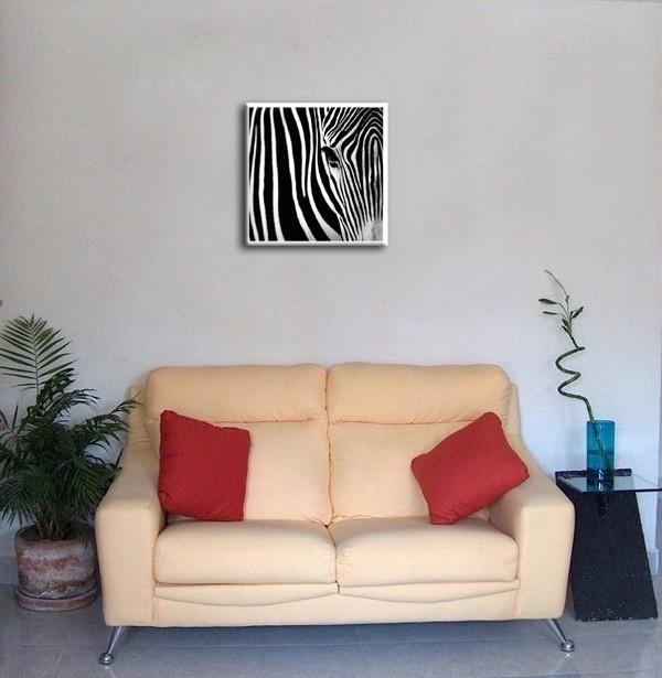 Холст принты, черно-белые картины напечатаны от зебры картины современные холст искусство для декора стен