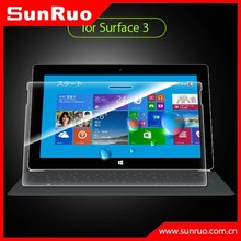 Laptop tempered glass screen protector for Windows Surface 3, for Surface 3 screen protective film
