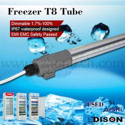 led cooler light 150cm 22w waterproof led light ip64 for refrigerator/ frezeer/wet place