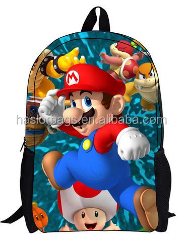 Lovely 3D Cartoon School Bag for Children