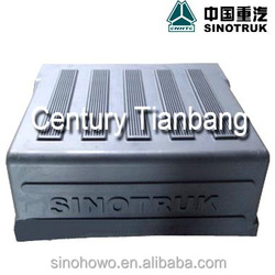 SINOTRUK HOWO and STEYR tractor,cargo and dump truck part , spare part AZ9100760102 BATTERY CASE TOP PLASTIC