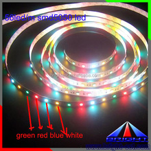 RGB chip + Warm white 5050 led light, 60led RGBWW ropelight