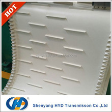 two-side cloth pvc conveyor belt for tire transport