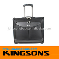 High Quality Leather Laptop Bag VIP Travel Trolley Luggage Bag