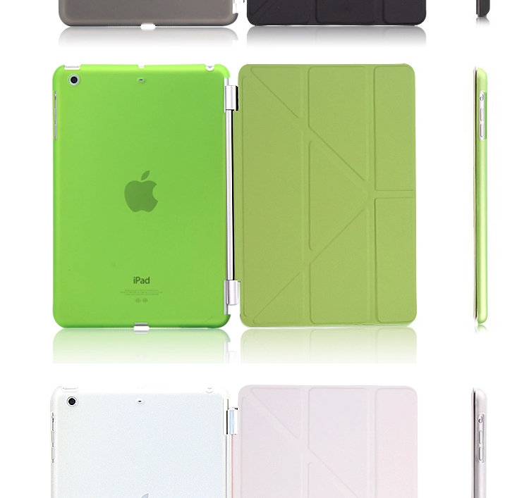 Flip Shell Cover for Ipad leather case for iPad Air/5 with hibernation funtion smart cover for ipad air