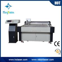 China supplier cnc oscillating knife leather punching and cutting machine/packing machine