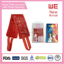 Gel hot cold pack for warm or cold therapy With Plush Packing