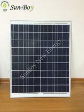 60w policristalino panel de energía solar
