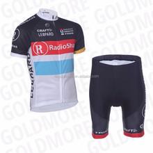 RADIO SHACK New team cube Cycling Jerseys Bike Jersey + cycling Short Bib Sets ,Custom cycling clothing,Bike wear cycling