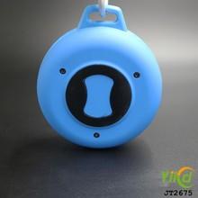 wholesale tire silicone waterproof round shaped putdoor mini portable speakers