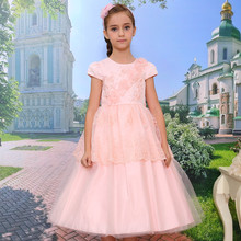 NEW ARRIVAL !2014 new fashion summer princess bow beads long dress flower girl
