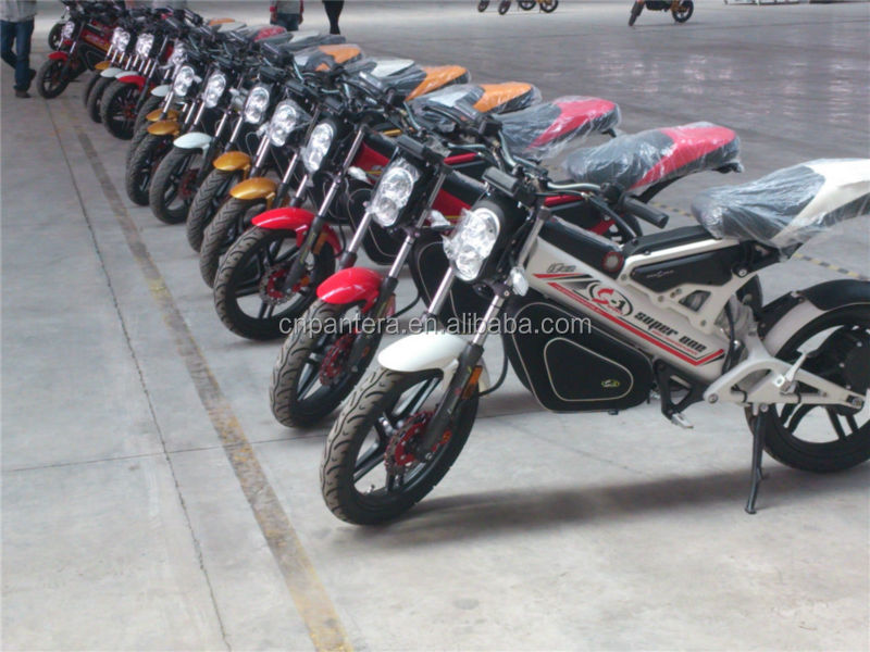 PT-E001 2014 Cheap High Quality New Model EEC Electric Motorcycles Made In China