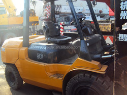 used toyota forklift 5ton FD50,original Japan/Toyota used forklift 5ton,8ton,10ton,15ton for hot sale in China