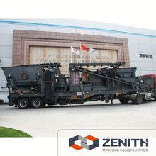 Large capacity combined mobile crusher cost, combined mobile crusher