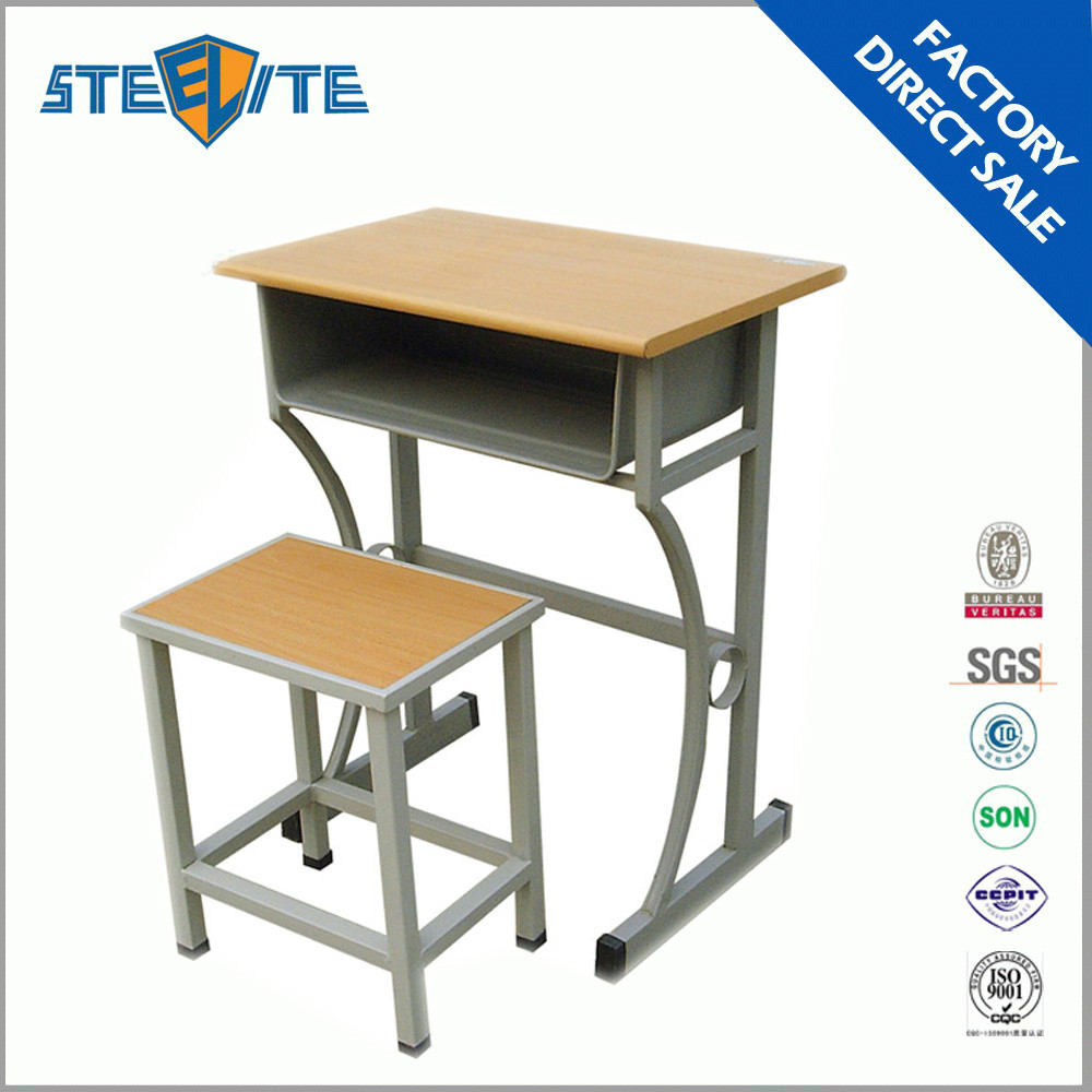 Standard Size School Desk Chair Used School Furniture