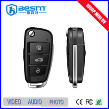 2015 top sale Besnt 1080p car key ir mini hidden camera taking pictures BS-S820