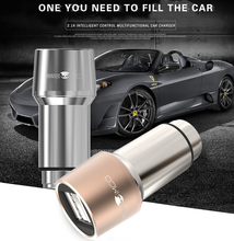 Brand New 5V 2.1A USB 2 Port Car Cigarette Lighter Socket Car Charger Adapter For Cellphone