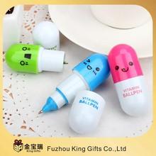 Hot Promotional Plastic capsule ballpoint pen