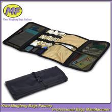 Custom Portable Universal Wrap Electronics Accessories Travel Organizer Tool Bag