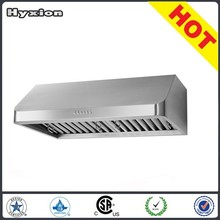 Factory OEM Stainless steel baffle filter chinese kitchen exhaust range hood