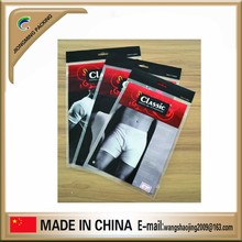 Customized printing plastic bag for underwear