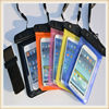 Fashional mobile phone pvc waterproof bag for samsung galaxy