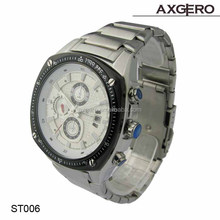 Wholesale alibaba China vogue watches men stainless steel watches for with chronograph