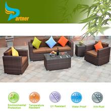 Interactive Rattan Indoor /Outdoor Furniture Rattan Bar Table and Bar Stool