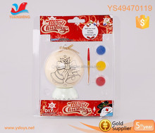 Wholesale christmas product children art printing doodle easter egg