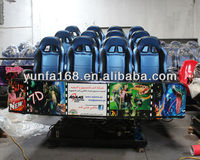 5D Cinema Simulator for 12 persons Blue 13010901