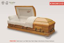 PINECONE solid pine wooden casket handle and wine bottle casket
