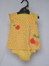 trade assurance cotton jersey baby dress baby romper