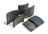 China best selling non asbestos ceramic brake lining for Ankai bus