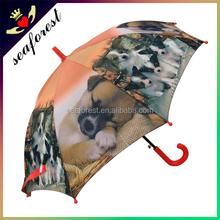 Novelty dog print umbrella/Kids animal print umbrella/Pet dog umbrella