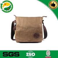 china supplier high quality cheap canvas fabric man bag, canvas shoulder long strip bag for male