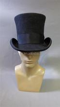 Wholesale bulk perfect man black top hat HT5507
